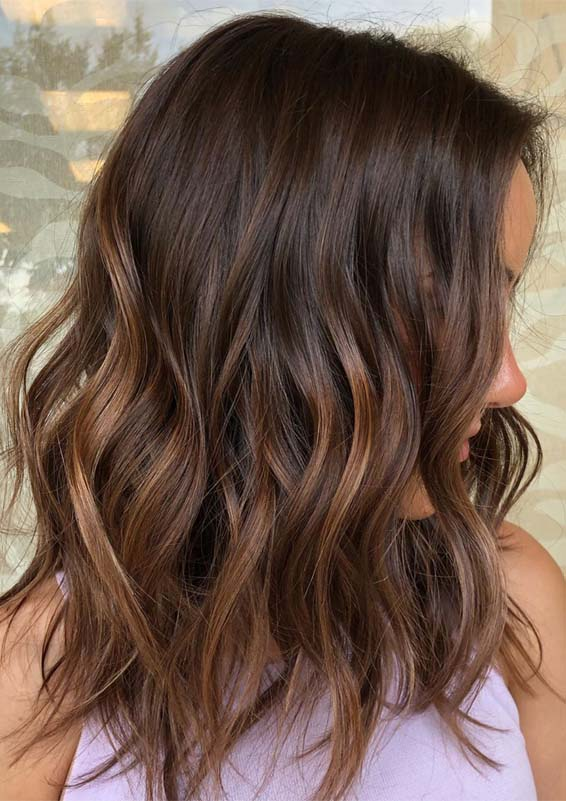 Gorgeous Dark Balayage Hair Color Trends You Must See Now