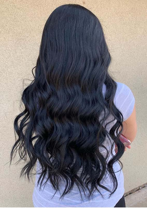 Best Dark Rich Hair Colors for Long Hair to Wear in 2019