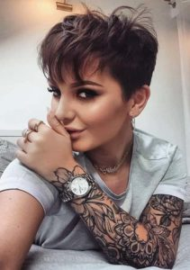 Marvelous Styles Of Pixie Haircuts for Women 2019