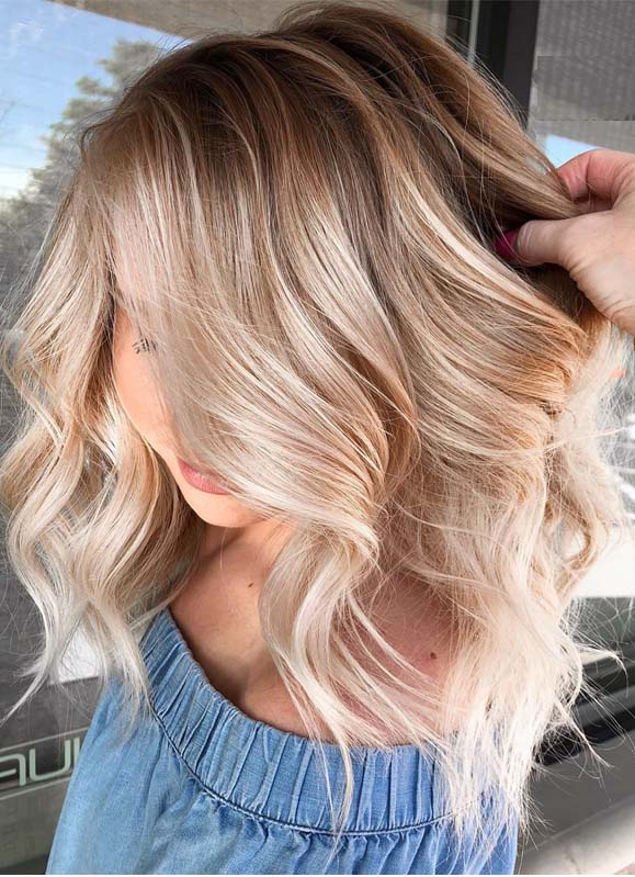 Pretty Shades Of Balayage Hair Colors for Women in 2019