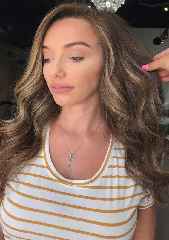 Fantastic Sun Kissed Balayage Hair Colors for Long Locks in 2019