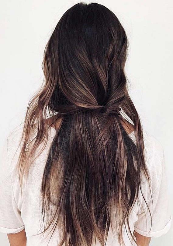 Awesome Long Knotted Hair Styles Trends for Ladies in 2019