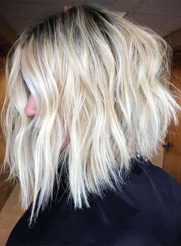 Best Short Blonde Textured Haircuts for Women in 2019