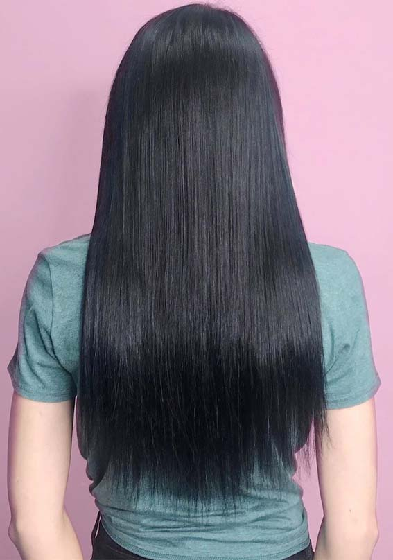 Gorgeous Soft Shiny Sleek Black Hairstyles for Every Woman 2019