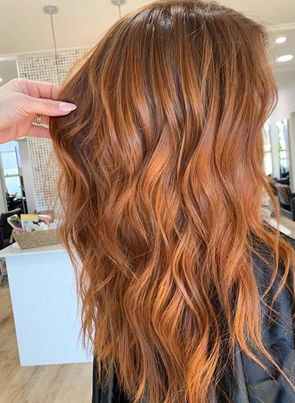 Obsessed Copper Hair Color Shades for Long Hair in 2019