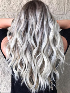 Platinum Ice Blonde Hair Color Shades to Follow in Year 2019