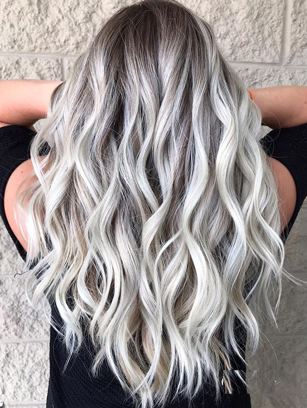 Fresh Platinum Ice Blonde Hair Color Shades to Follow in 2021