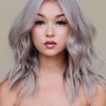 Sandy Ice Platinum Blonde Hair Color Ideas for Women 2019