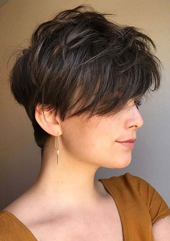 Stunning Ideas Of Pixie Haircut Styles for Ladies in 2021