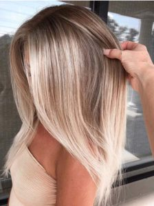 Stylish Balayage Hair Colors for Dark Roots for 2021