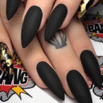 Most Amazing Black Nail Art Designs for Women in 2021