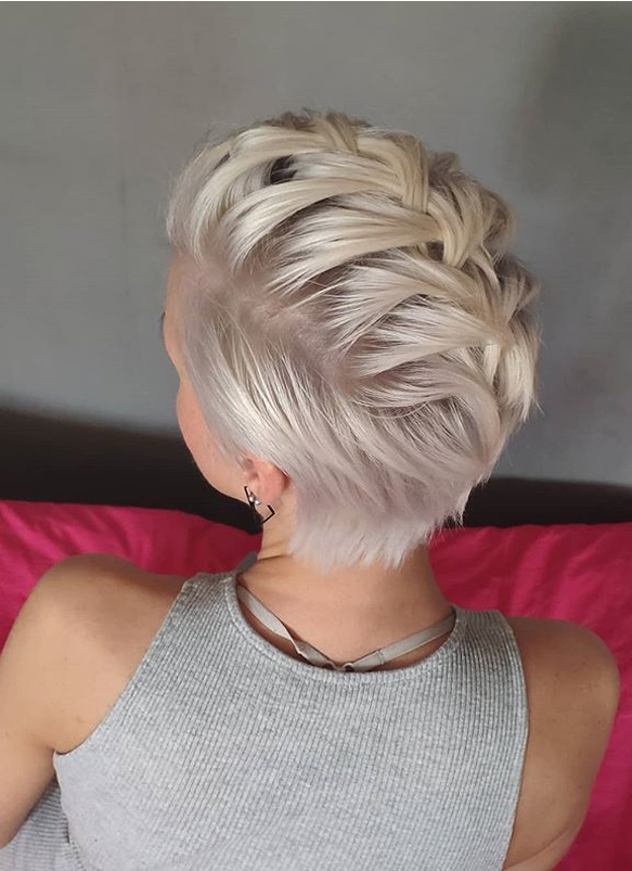 Fantastic Short Pixie Haircut Styles for Women to Wear in 2019