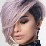 Undercut Short Haircuts with Side Bangs in 2019