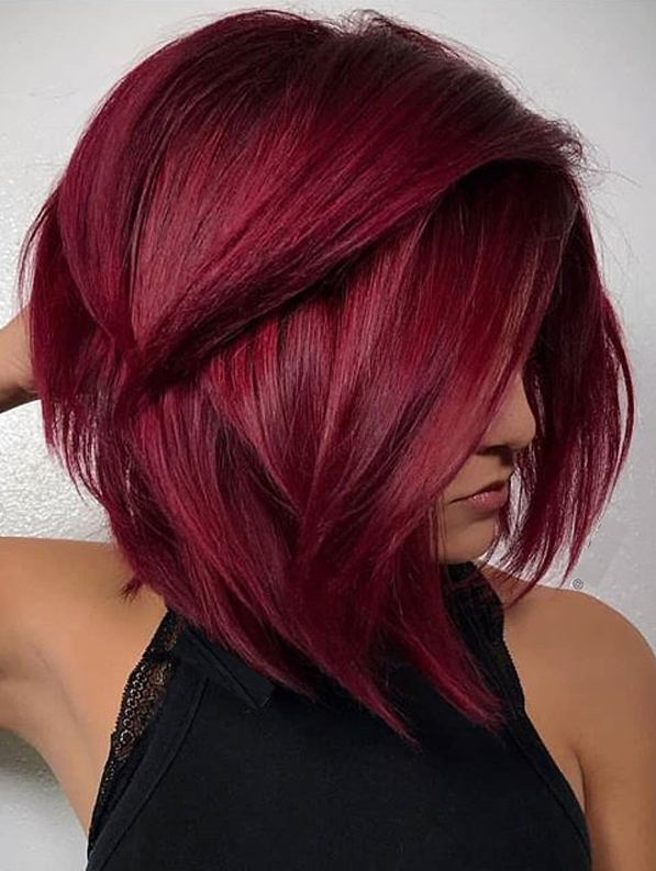 Growing Out Short Pixie Red Haircuts for Women in Year 2020