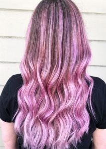 Marvelous Shades Of Pink with Dark Roots for Women in 2021