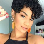 Short Curly Pixie Haircuts to Show Off in Year 2020
