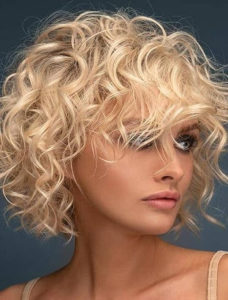 Soft Blonde Curly Hairstyles for Women to Show Off in 2021