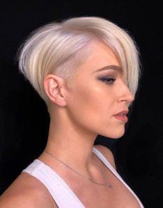 Undercut Short Pixie Haircuts with Bangsin Year 2020