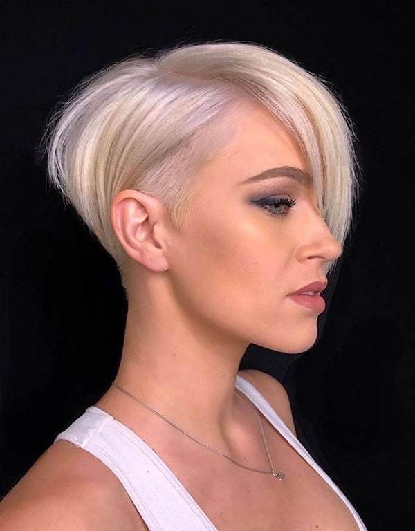 Gorgeous Undercut Short Pixie Haircuts with Bangs in Year 2020