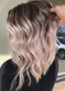 Updated Balayage Highlights with Dark Roots in 2021