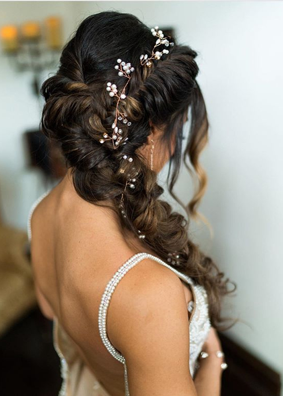 Fantastic Wedding Ponytail Hairstyles for Long Hair in Year 2020