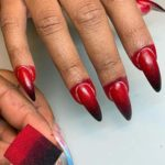 Red Ombre Nail Arts Designs for Women to Show Off in 2020