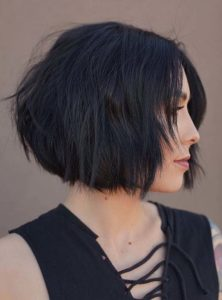 Short Textured Bob Cuts to Create in Year 2020