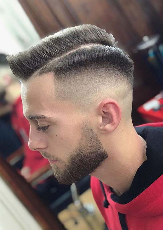 Best Side Parted Men Haircuts for Short Hair You Must Wear in 2020