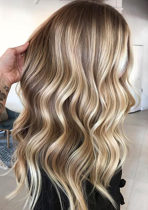 Stunning Shades Of Blonde Balayage Hair Colors to Follow in 2020