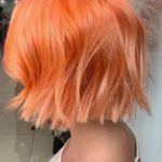 Winter Peach Hair Color Shades to Follow in 2021