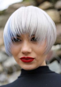 Wonderful Short Bob Haircuts with Bangs for Women 2020