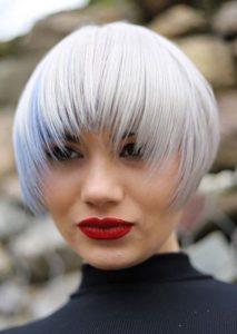 Wonderful Short Bob Haircuts with Bangs for Women 2020