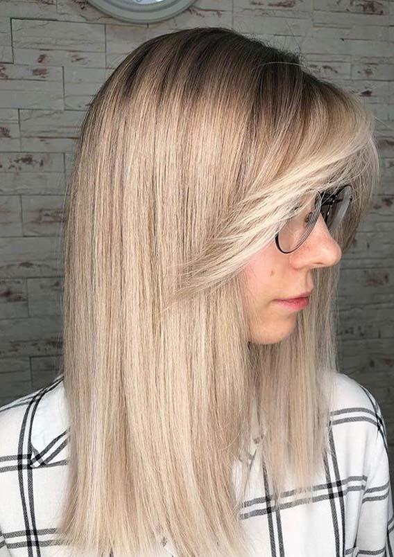 Wonderful Blonde Long Hair Styles for Women in Year 2020