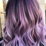 Adorable Purple Hair Colors and Hairstyles for Women 2020