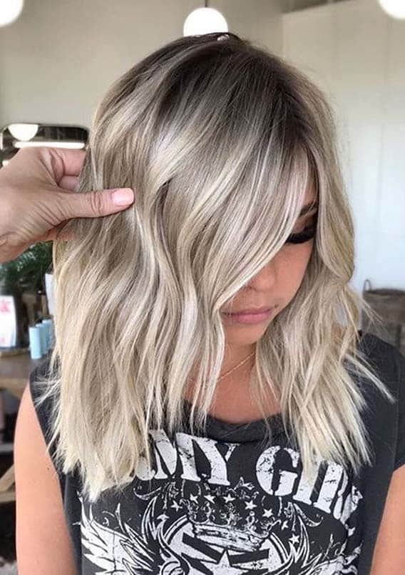 Awesome Balayage with Shadow Root to Show Off in Year 2020