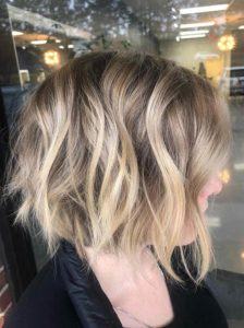 Awesome balayage and textured bob haircuts in 2020
