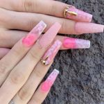 Glittered Pink Nail Arts and Designs to Show Off in 2020