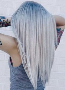 Pretty Shades Of Blonde Hair Colors for Sleek Straight Hair in 2021