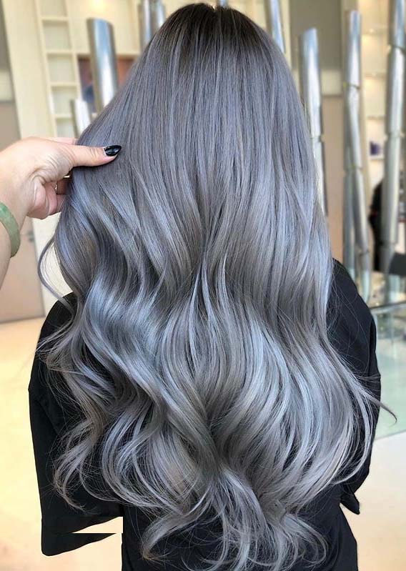 Best Silver Blonde Hair Color Shades for Long Hair You Must Try in 2020