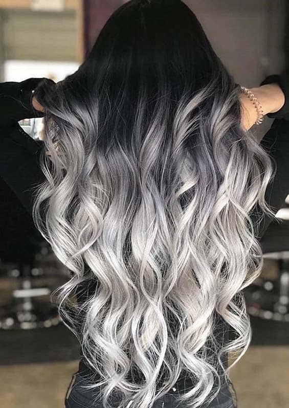 Amazing Smokey Blonde Hair Colors with Dark Roots to Try in Year 2020