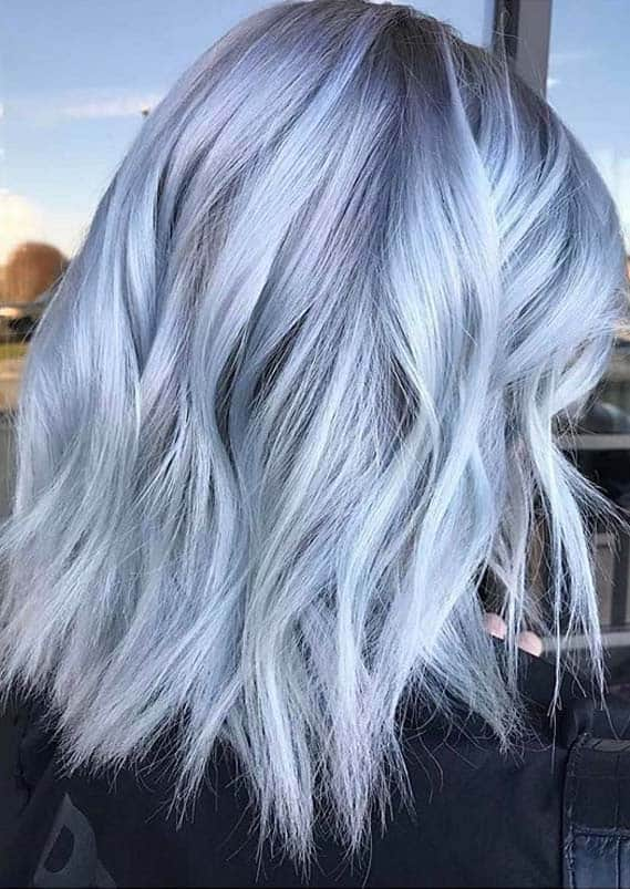 Hottest Smokey Blue Hair Color Ideas to Try in Year 2020
