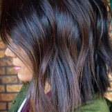 28 Charming Dark Brown Chocolate Hair Color Ideas for 2021