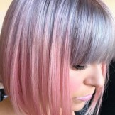 36 Pretty Silver Grey to Pastel Pink Hair Colors for 2021