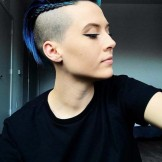 52 Gorgeous Undercut Short Pixie Styles with Braids for 2021