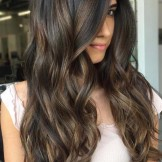 55 Hot Chocolate Brown Hair Color Ideas for Women 2018