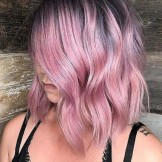 48 Gorgeous Pink Hair Colors with Shadow Roots in 2021