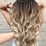 50 Pretty Waterfall Braids with Stunning Hair Color Contrasts 2018