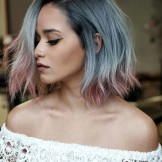 38 Incredible Titanium Ombre Hair Color Ideas for 2021