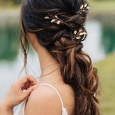 15 Romantic Wedding Hairstyles for Long Hair in 2021