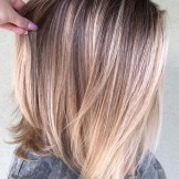 39 Beautiful Balayage Lob Hair Looks for 2021